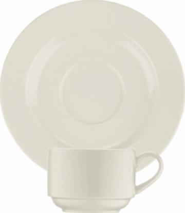 Ceasca si farfurioara din portelan Bonna-Banquet 80cc de la Basarom Com
