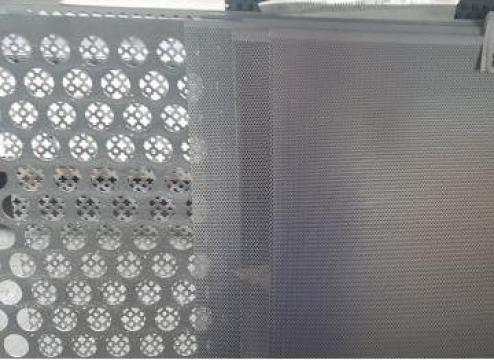 Tabla otel perforata 1.5x1000x2000mm perforatii rotunde de la Eurometals Service Center Srl