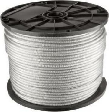 Cablu din otel inox A4, DIN 3055 de la Electrofrane