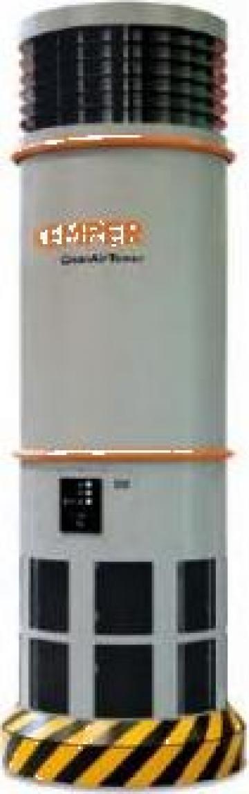 Sisteme ventilatie Kemper CleanAirTower de la Furitech Srl