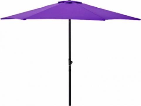 Umbrela soare 250cm culoare mov de la Basarom Com