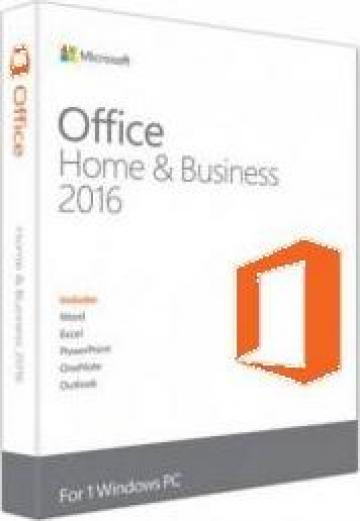 Licenta retail Microsoft Office 2016 Home and Business