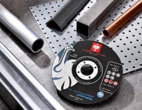 Disc taiere inox 125x1, disc debitat 125x1
