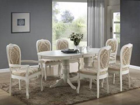 Masa Angelica cu 6 scaune