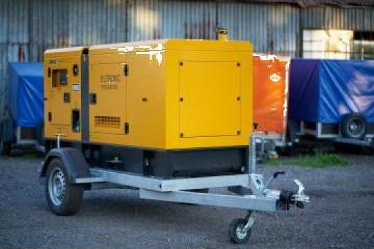Inchiriere generator /generator trifazic 90 KW(112KVA) de la Inchirieri Remorci Berceni