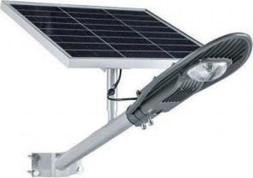 Lampa iluminat stradal IP65 30W cu panou solar de la Electrofrane