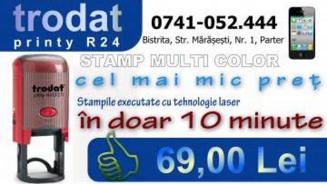 Stampila R24 Bistrita