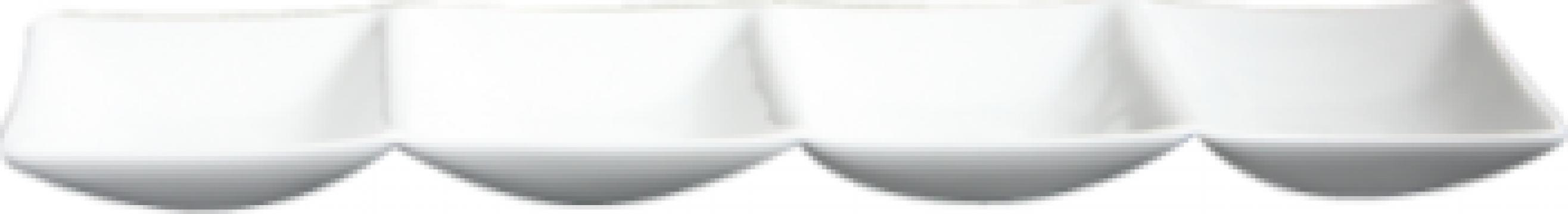 Platou 4 compartimente portelan 33x8cm colectia Hong Kong de la Basarom Com
