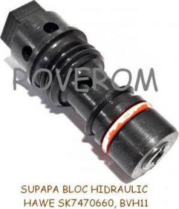 Supapa bloc hidraulic Hawe (SK 7470 660, BWH11) de la Roverom Srl