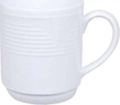 Cana pentru lapte din portelan 300cc colectia Saturn de la Basarom Com