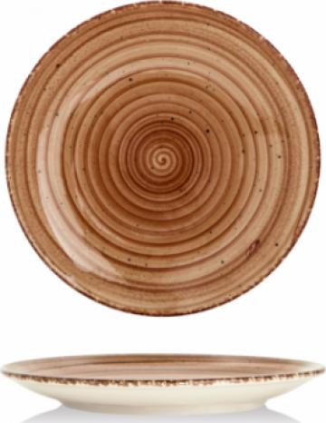 Farfurie desert Gural colectia Brown 19cm de la Basarom Com