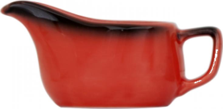 Cana lapte Gural colectia Marmaris-Black/Red 90ml de la Basarom Com