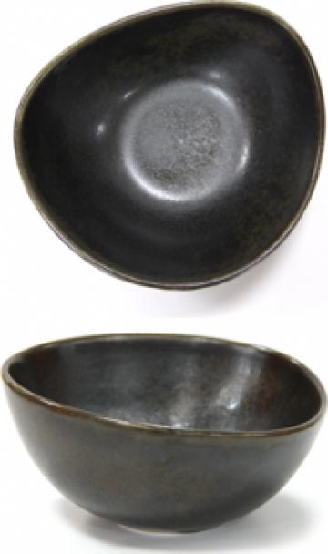 Bol portelan Antique Black 18cm de la Basarom Com