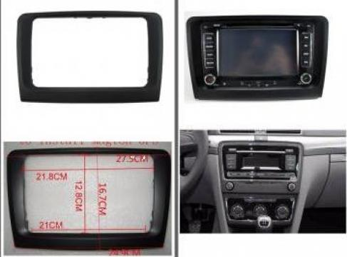 Rama 2DIN adaptare navigatie Skoda Superb 2 2009-2014