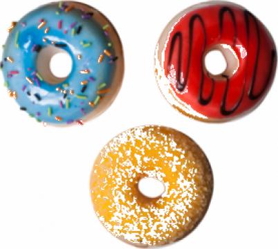 Figurina decorativa Raki forma de Dunkin Donuts de la Basarom Com