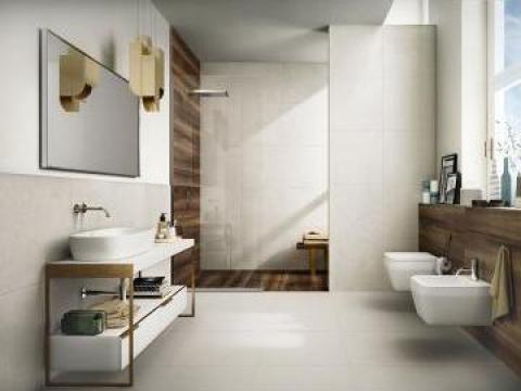 Gresie portelanata Colore Bianco 60x60cm de la The Outlet T.Solution Srl