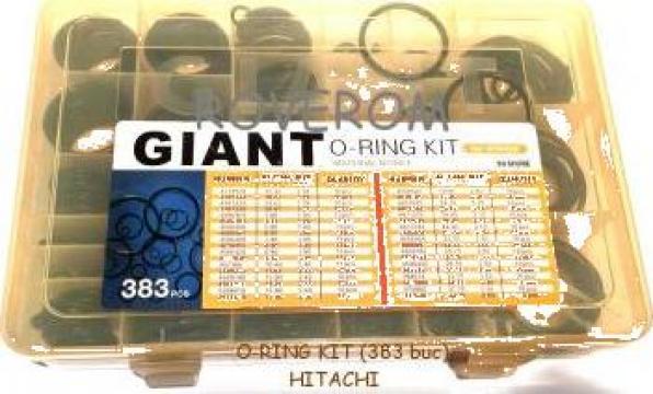 Kit o-ring Hitachi (383 buc.) de la Roverom Srl