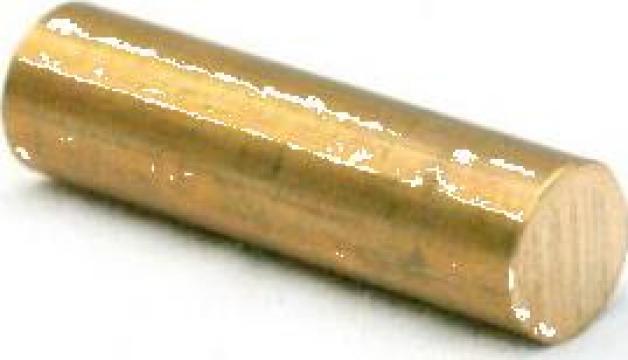 Bara alama rotunda 30x100mm CuZn39Pb3 CW614N