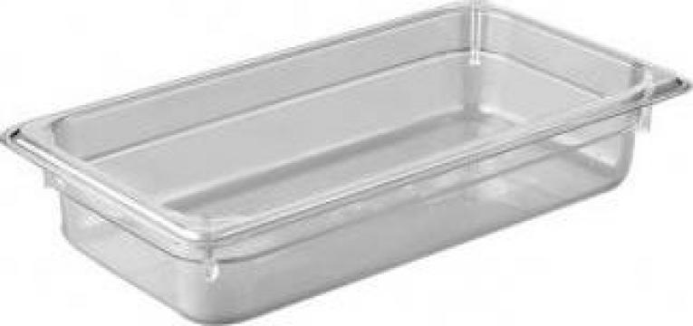 Tava gastronorm policarbonat 1/3-150 5,3litri transparent de la Basarom Com