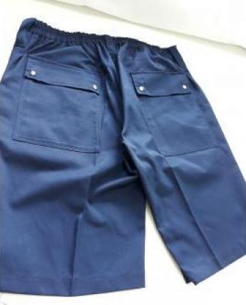 Pantaloni scurti cu buzunare de la Sc Atelier Blue Srl