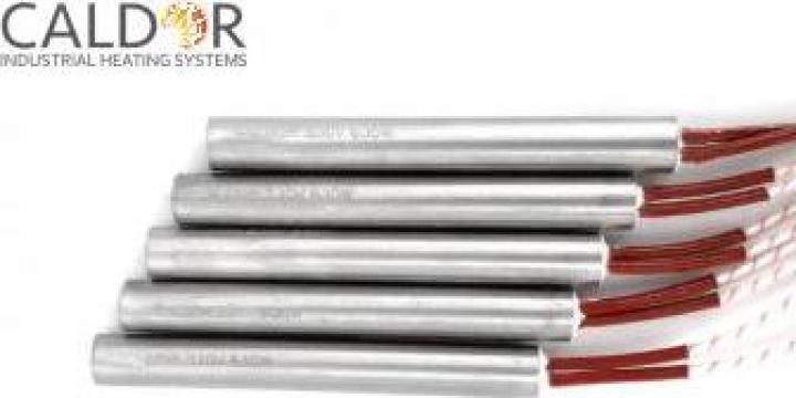 Rezistente electrice cartus 12.5 x 100 230V 630W de la Caldor Industrial Heating Systems Srl