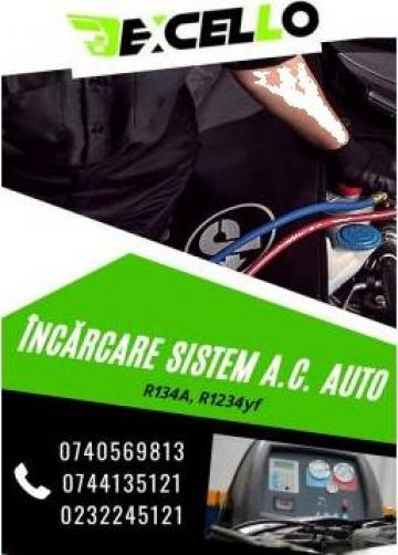 Incarcare sistem A.C./freon auto de la Excello Srl
