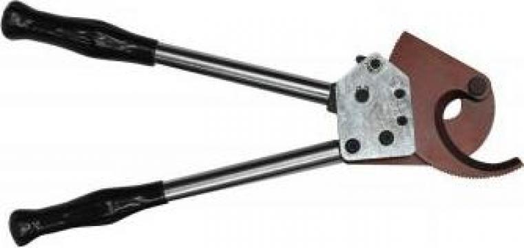 Cleste taiat cablu cu clichet 100 mm de la Electrofrane
