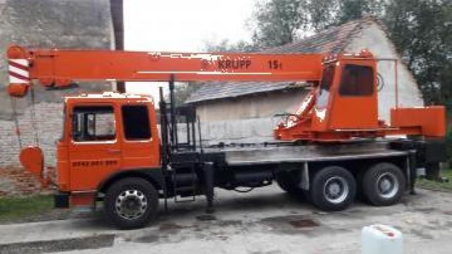 Automacara 18 tone de la Act Invest