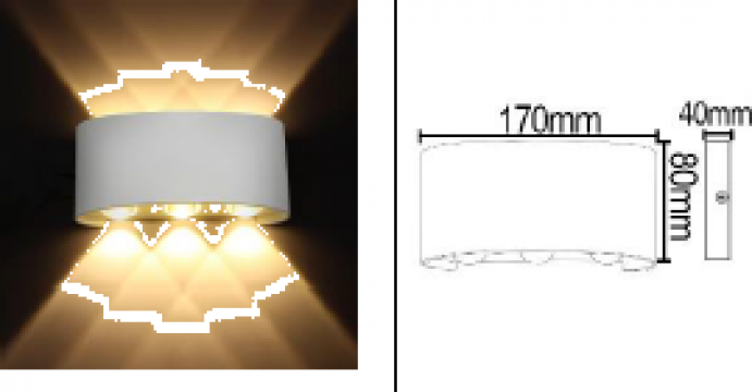 Aplica LED 3x3,4x4 de la Samro Technologies Srl