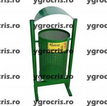 Cos de gunoi din tabla perforata 975 de la Ygrocris Dorally Steel Srl