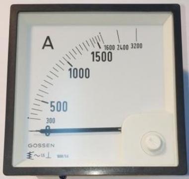 Ampermetru EQ96-1600-5