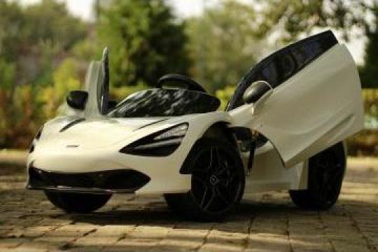 Jucarie Masinuta electrica copii McLaren 720s 2x35W 12V #alb