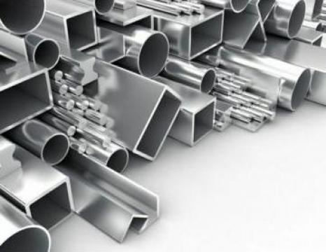 Teava aluminiu 30x15x1.5 - 2 rectangulara inox, alama, cupru