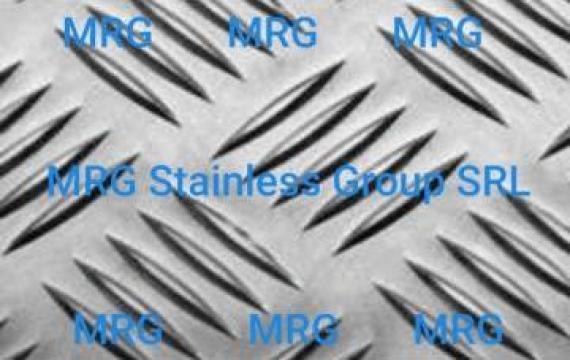 Tabla aluminiu striata Quintett 2x1250x2500mm