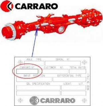 Piese Carraro 136671 - Tractor Claas Ares 735 de la Instalatii Si Echipamente Srl