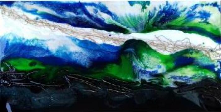 Pictura cu rasina de la Gallery Art Bissinger Srl