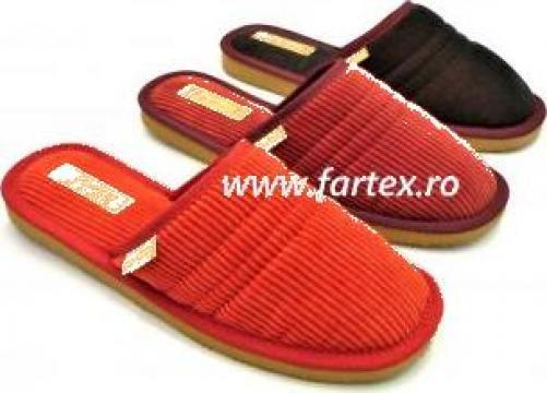 Papuci de casa femei de la Fartex Collection Srl