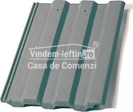 Tigla de beton 1/1 Bramac Markant gri