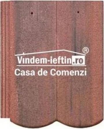 Tigla de beton 1/1 Bramac Reviva Antic