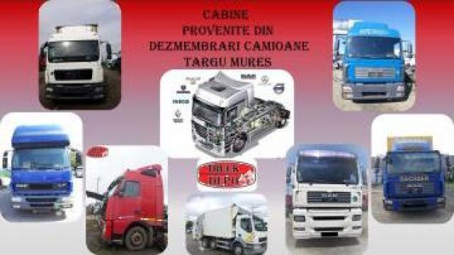 Cabine provenite din dezmembrari camioane de la Truckdepo Srl