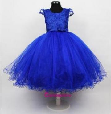 Rochie albastra fetite 3-4 ani de la Sc V&A Lider Srl