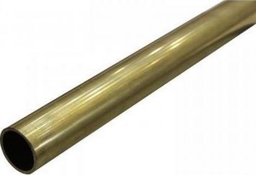 Teava alama rotunda 16x1x3000mm, tub conducta aluminiu, inox