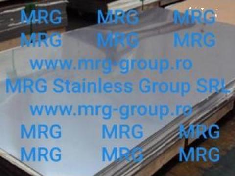 Tabla inox 1.5mm mata, oglinda satinata Scotch Brite de la MRG Stainless Group Srl