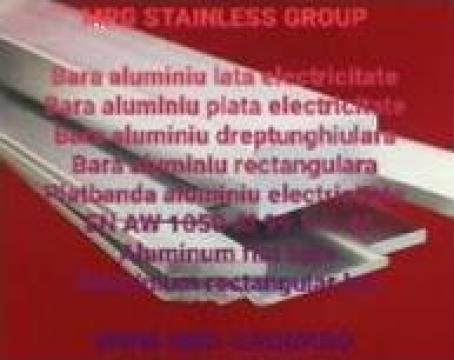 Platbanda aluminiu electricitate 30x10mm conexiuni electrice