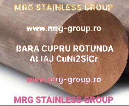 Bara cupru aliat CuNi2SiCr cupru nichel siliciu crom Copper de la MRG Stainless Group Srl