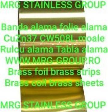 Folie alama CuZn37 CW508L stare moale Soft banda alama rulou