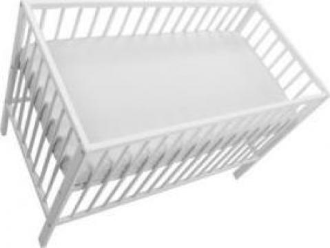 Cearceaf cu elastic MyKids alb 120 - 60 de la Ivenik Concept Srl