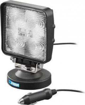 Lampa LED 15 W cu talpa magnetica 0713/15 de la Proma Machinery Srl.