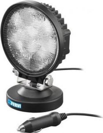Lampa LED 18 W cu talpa magnetica 0713/18 de la Proma Machinery Srl.