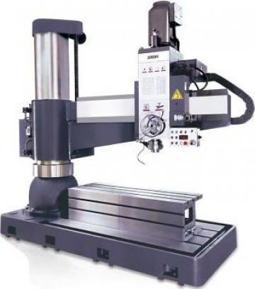 Masina de gaurit radiala 100 mm FRD-C2500 de la Proma Machinery Srl.